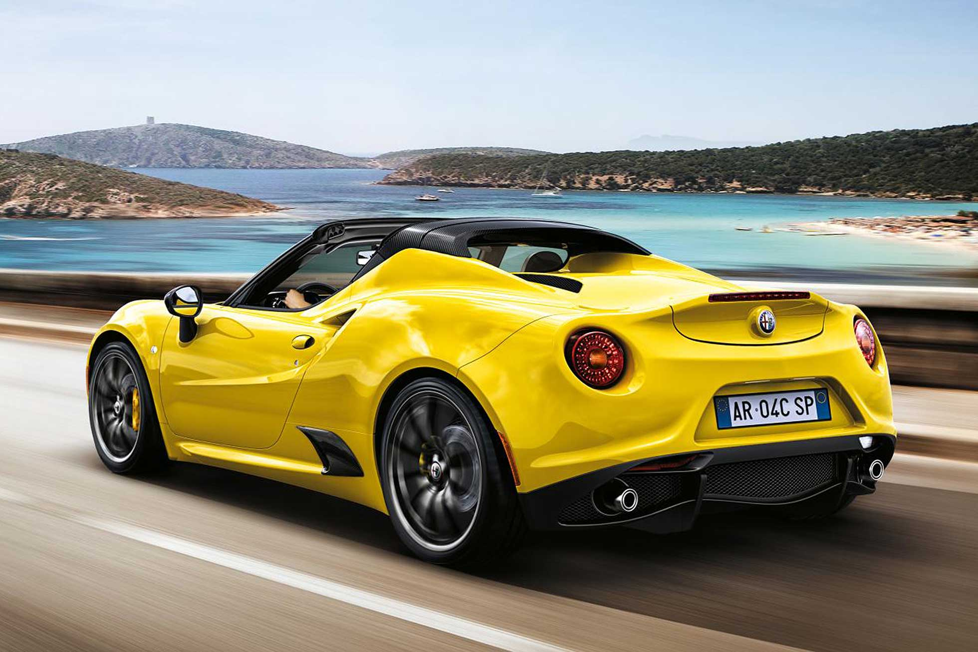 2015 alfa romeo 4c spider ruf lyf. Black Bedroom Furniture Sets. Home Design Ideas