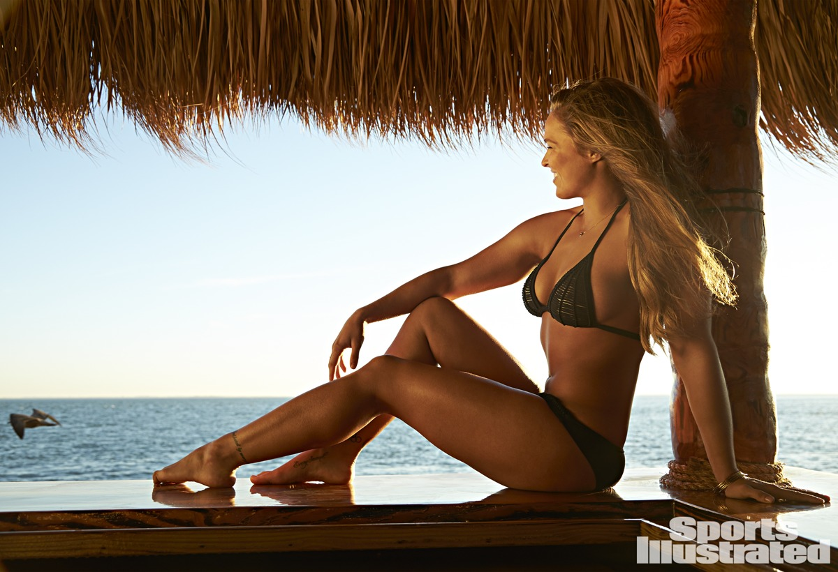 Ronda Rousey Sports Illustrated Swimsuit 2015 Ruf Lyf
