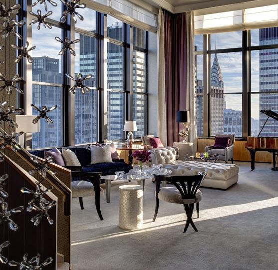 New York Palace Hotel $25,000 Per/night