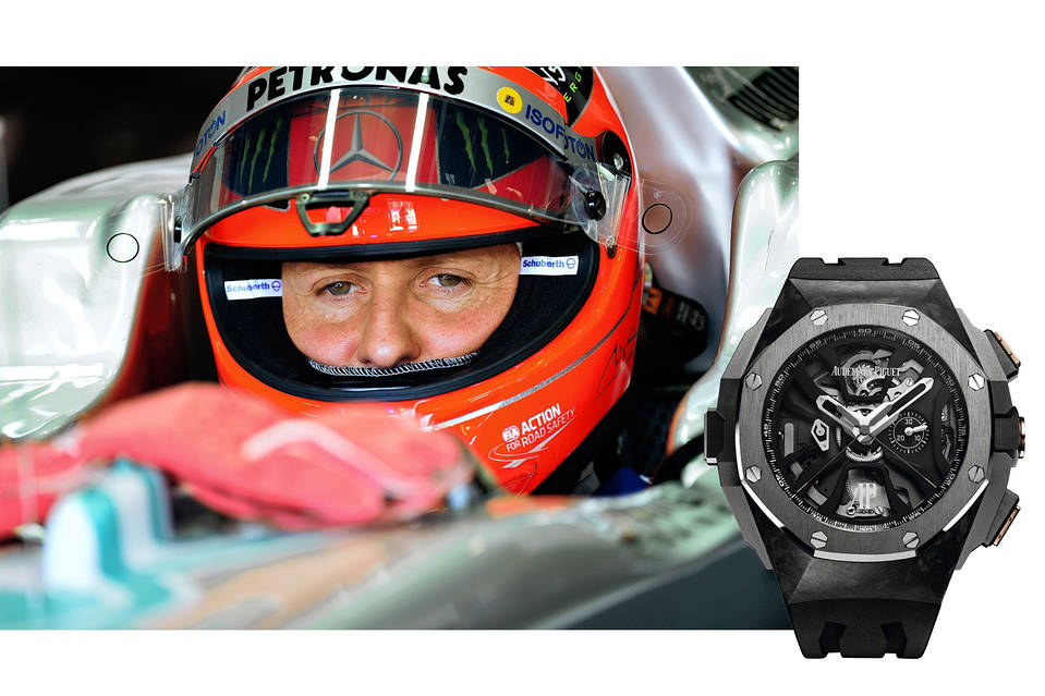 The Royal Oak Concept Laptimer Michael Schumacher timepiece watch chronograph (1)