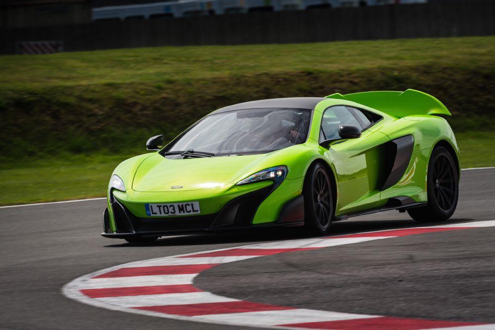 The Mclaren Lt Mean Green Machine Beast Racecar Super Car Hypercar Lime Track