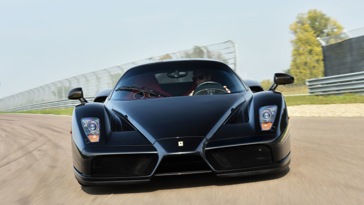 Wrecked Ferrari Enzo From Malibu Crash In 2006 Rebuilt And Sold At