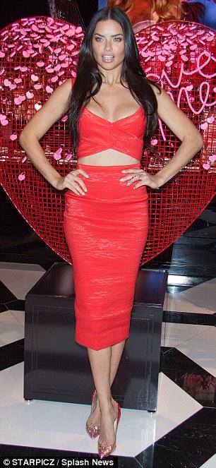 Adriana Lima Valentines Day Love Ruf Lyf