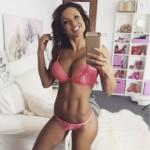 Julia Gilas fitness model socal social media natural entrepreneur Ukraine Russian dream successful US American sweet but photos videos IG sex pretty legs bikini bra ass tits (3)
