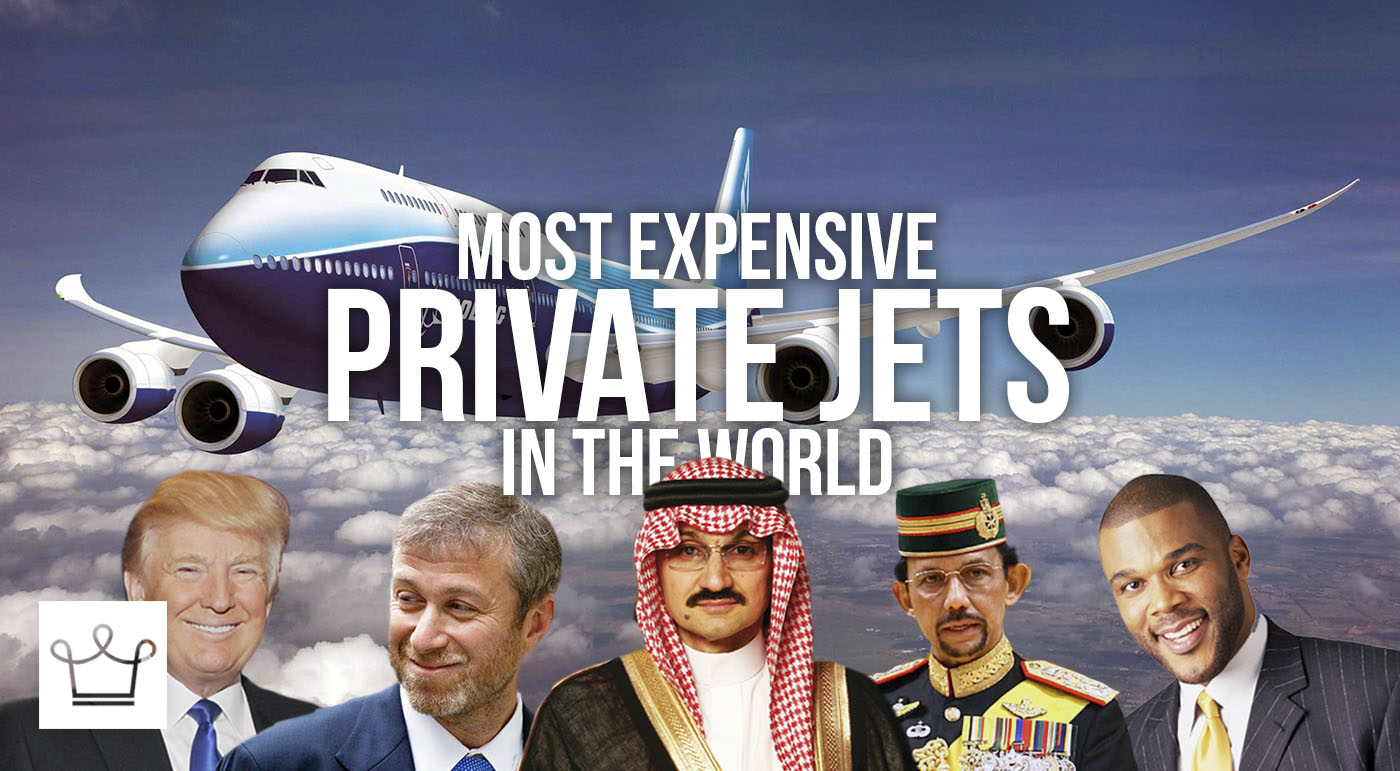 Top 10 Most Expensive Private Jets in the World Who Own Them And How Much Each Cost