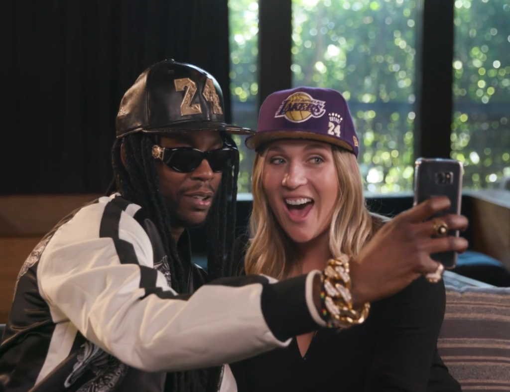 2-chainz-gq-most expensive shit kobe hat lakers gold and purple