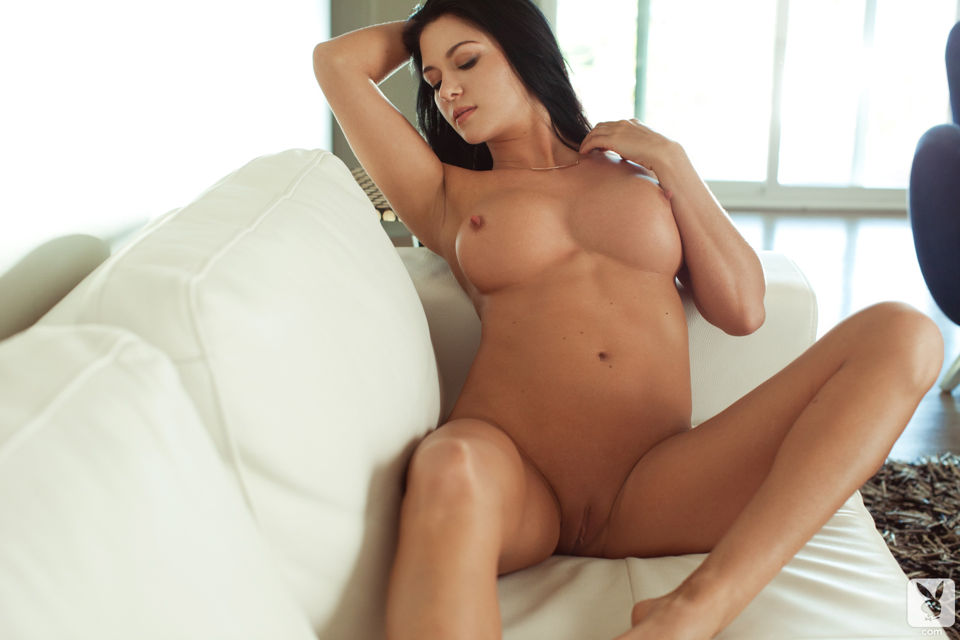 Sexy european brunette stunning tits amazing body and lips