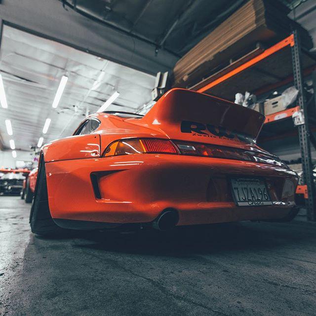 Porsche 993 Motor Abdichten: Porsche RWB 993