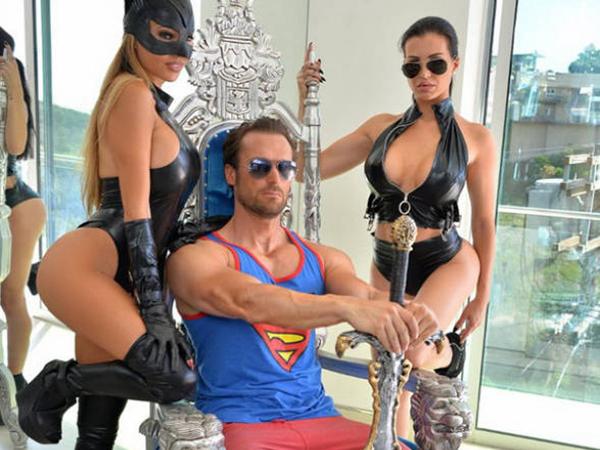 bastion yotta hollywood luxurious lifestyle dan bilzerian rifle rolex girls german businessman sexy parties tits cars